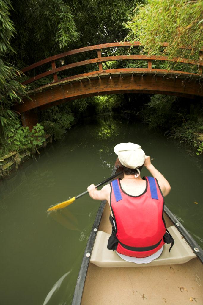 Sports nautiques : canoë sur la Marne