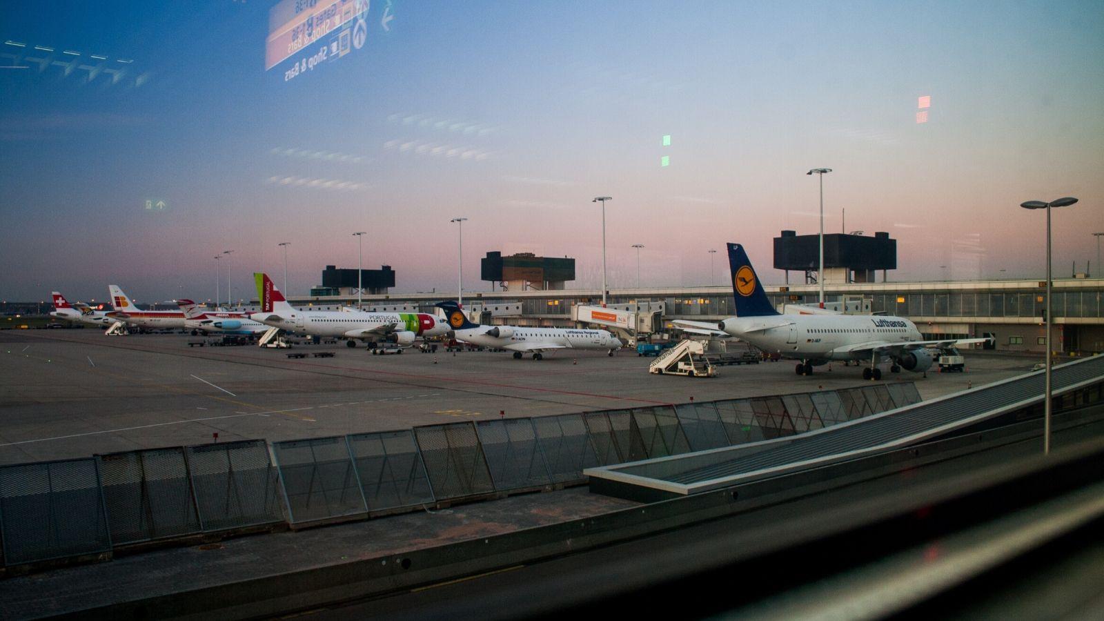 Visite d'un aéroport francilien