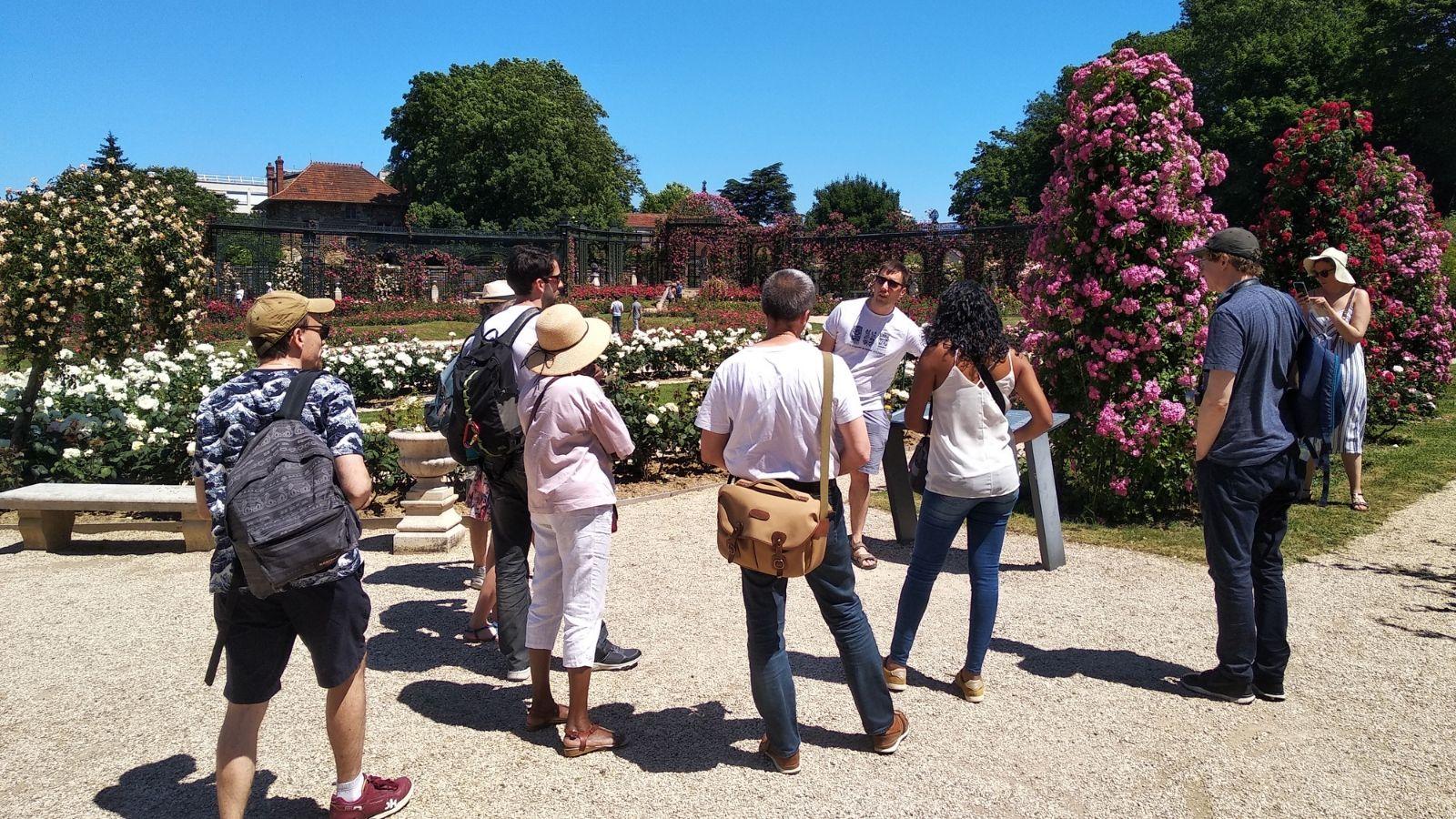 Retour sur notre Instameet à la Roseraie du Val-de-Marne