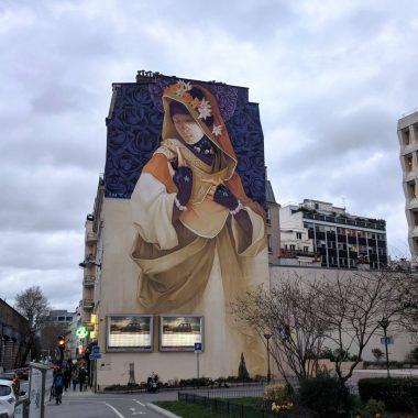 Balade street art et découverte des œuvres monumentales du 13ème arrondissement de Paris
