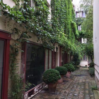 Quartier et cours d'artisans de la Bastille