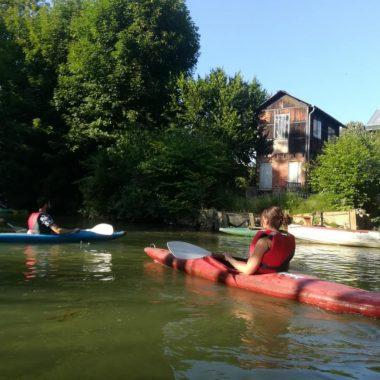 Balade sur la Marne en canoë-kayak