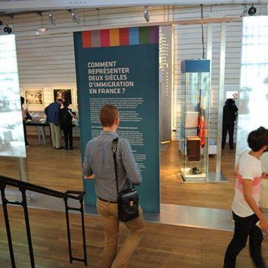 Visite du musée de l'Histoire de l'immigration