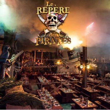 Repas spectacle sur le thème des pirates