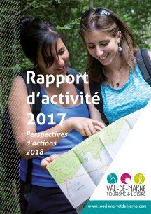 Rapport d'activité 2017 de Val-de-Marne Tourisme et Loisirs
