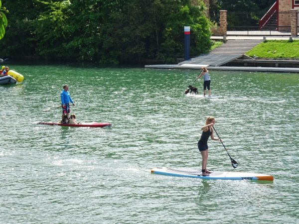 stand Up paddle à Joinville le pont