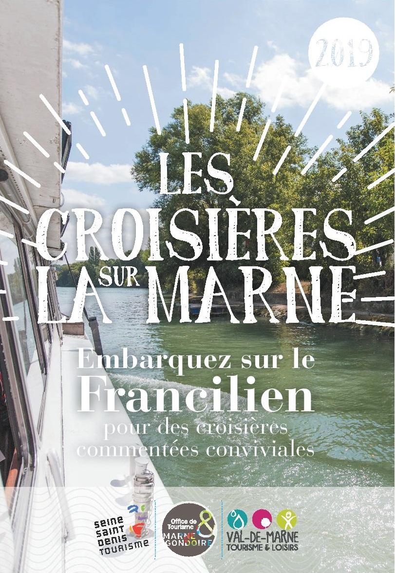 Croisières sur la Marne avec le Francilien