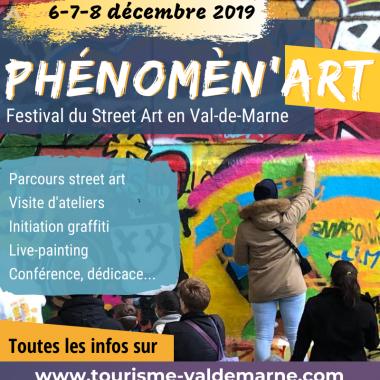 Phénomèn'Art : festival street art inédit