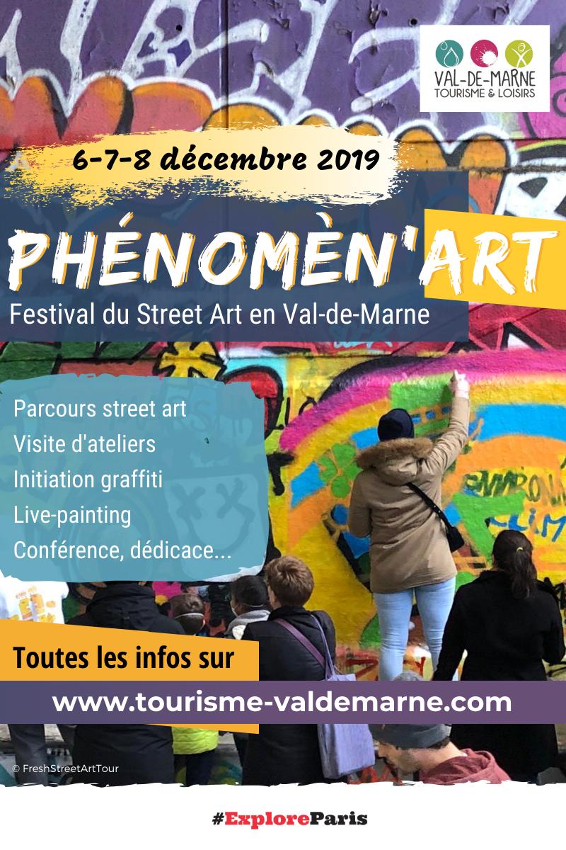Phénomèn'Art, festival street art en val-de-marne