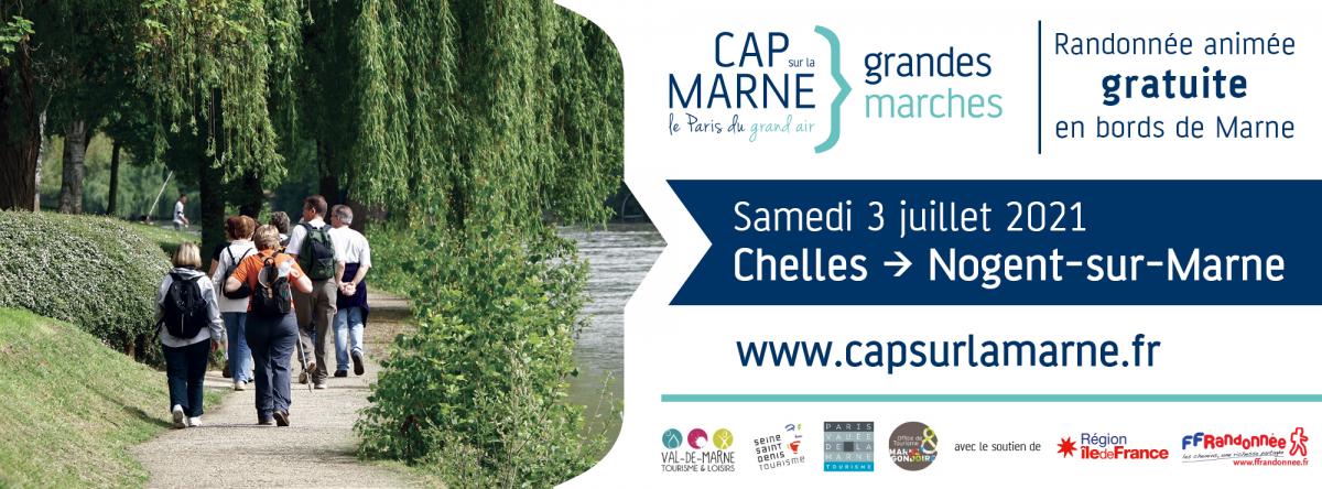 Grande marche Cap sur la Marne