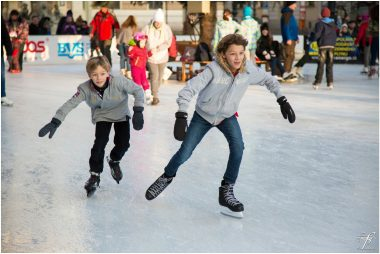 Les patinoires de noël en Val-de-Marne
