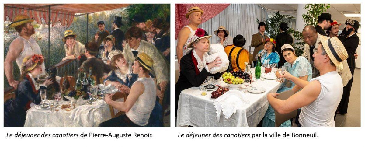 Concours ville de Bonneuil - canotiers