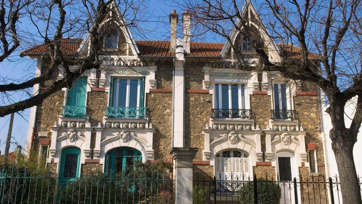 Balade architecture Art Nouveau Art Déco nogent le perreux