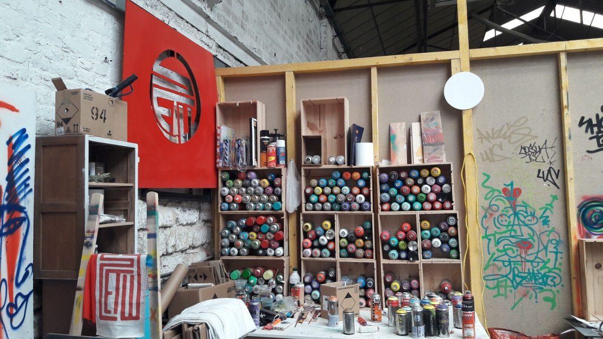 visite atelier street art val de marne stew