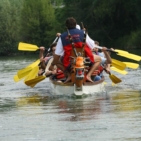dragon boat sur la Marne
