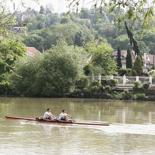 Découverte de l'aviron en Val-de-Marne