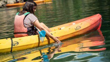 Kayak sur la Marne à Champigny plage