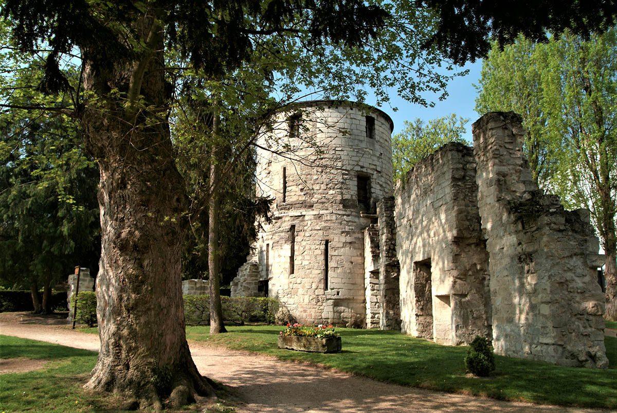 abbaye saint maur des fossés jardin