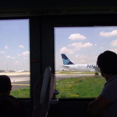 Sur le tarmac de l'aéroport Paris-Orly