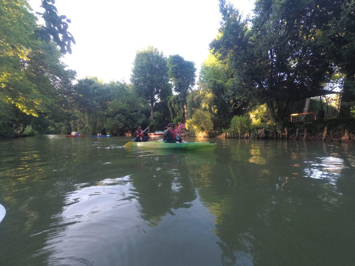 Kayak sur la Marne à Créteil