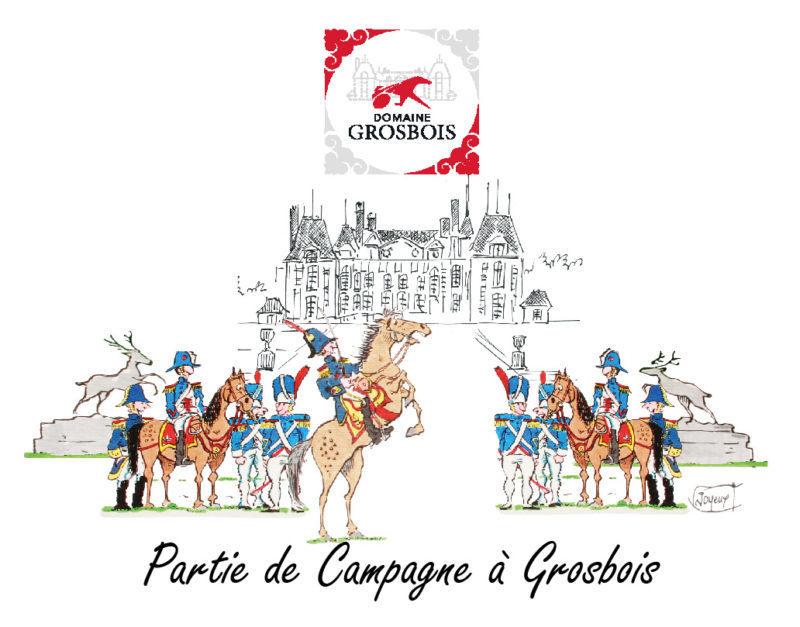 Fête impériale au domaine de Grosbois