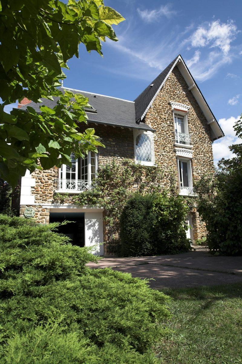 architecture maison pierre bord marne