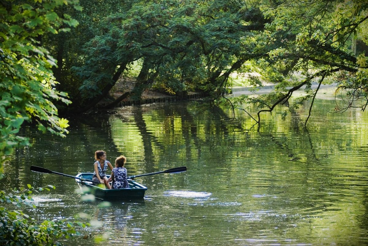 barque lac bois de vincennes