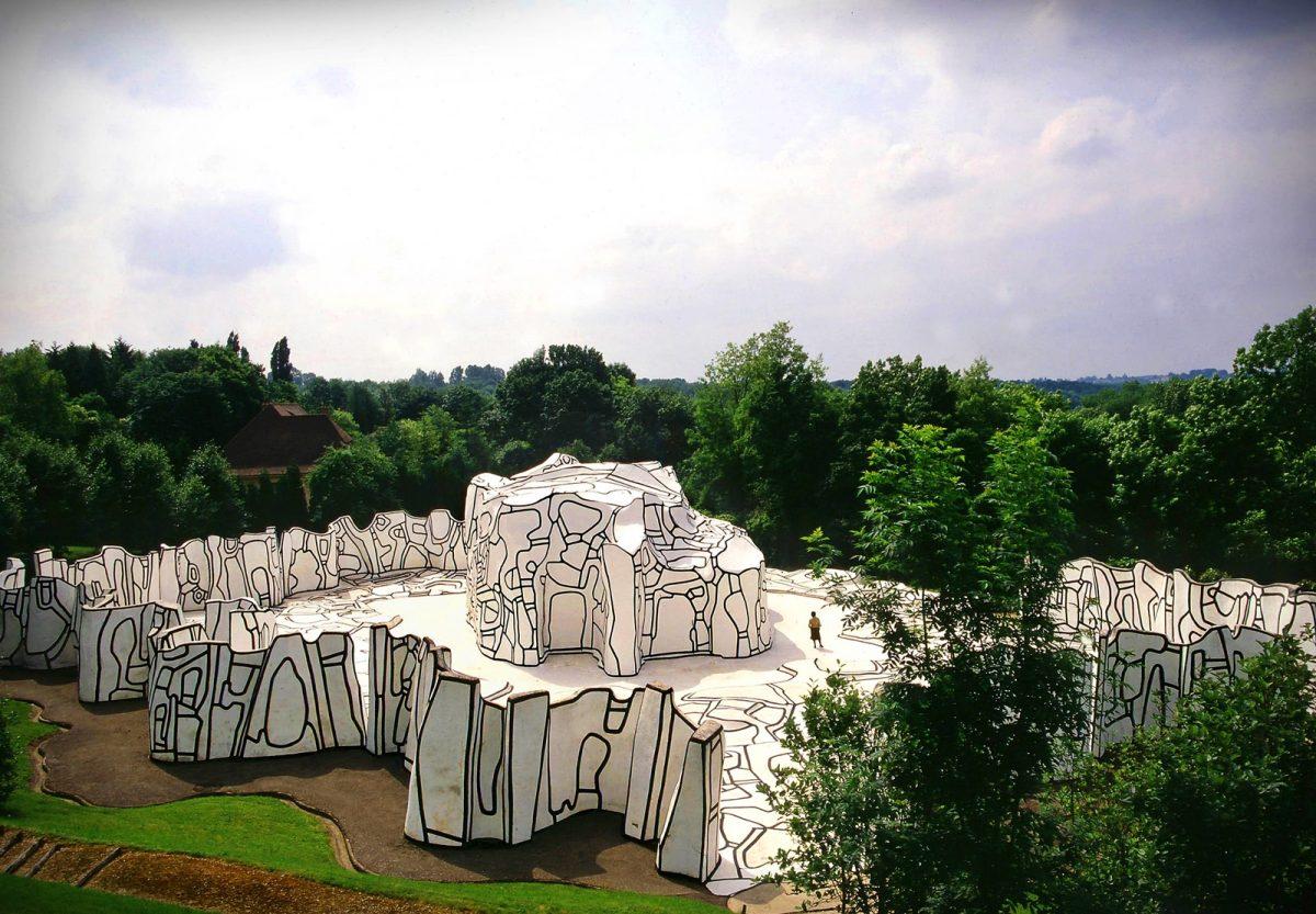 closerie falbala sculpture fondation dubuffet perigny sur yerres