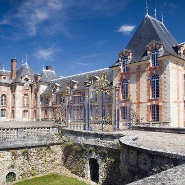 facade entree chateau grosbois boissy saint leger