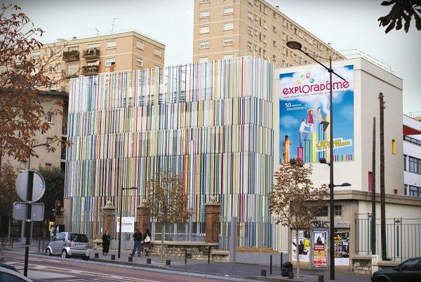 Facade du musee l'exploradome