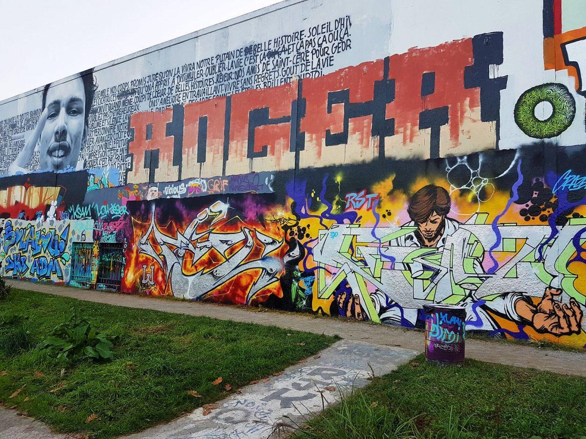 oeuvre street art parc cormailles ivry sur seine