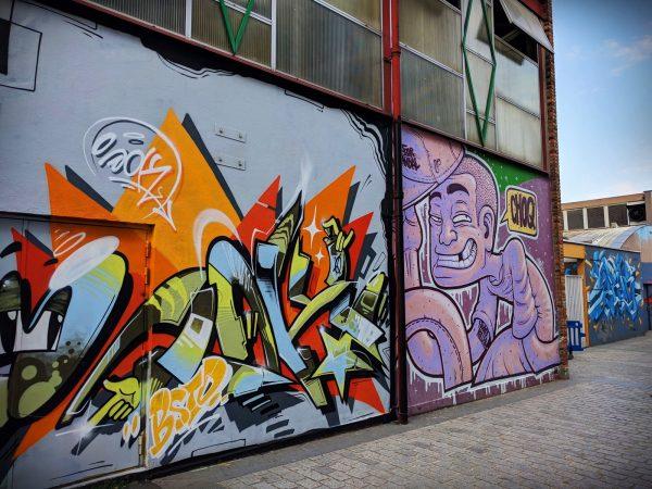 Oeuvre de street art à Vitry-sur-Seine