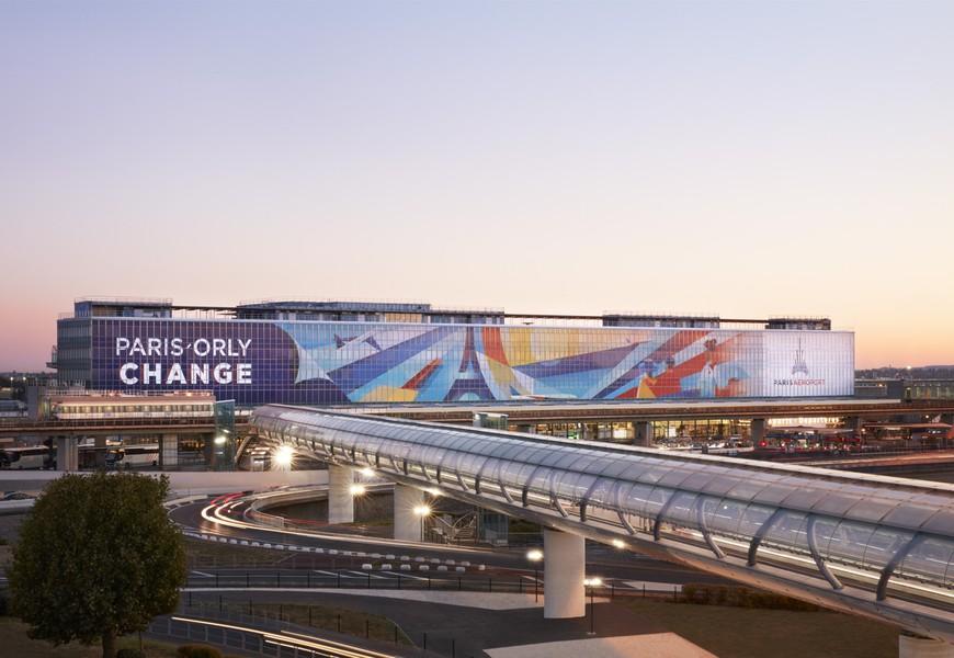 aeroport paris orly change