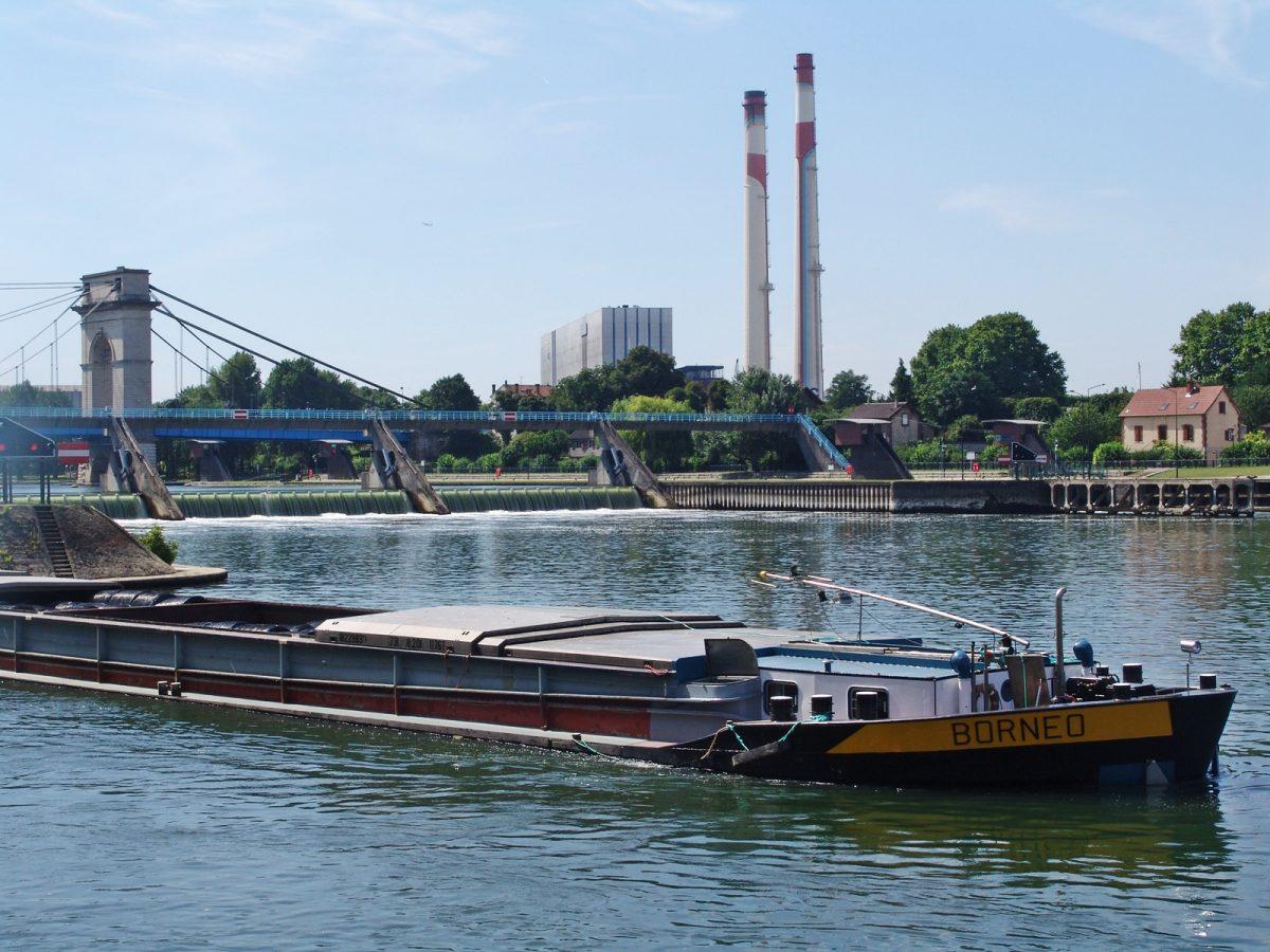 bateau seine pont a l'anglais