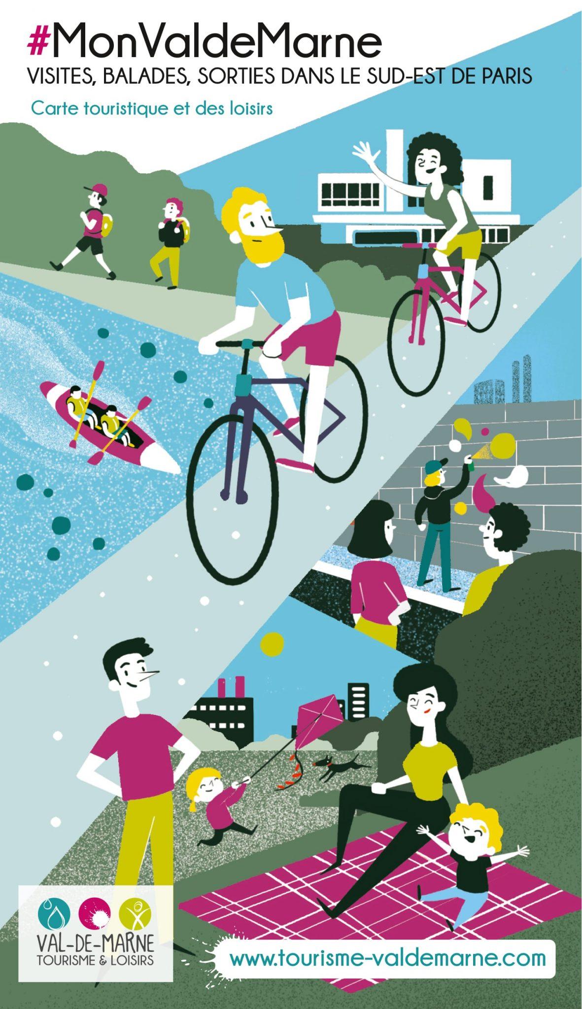 couverture brochure carte val de marne