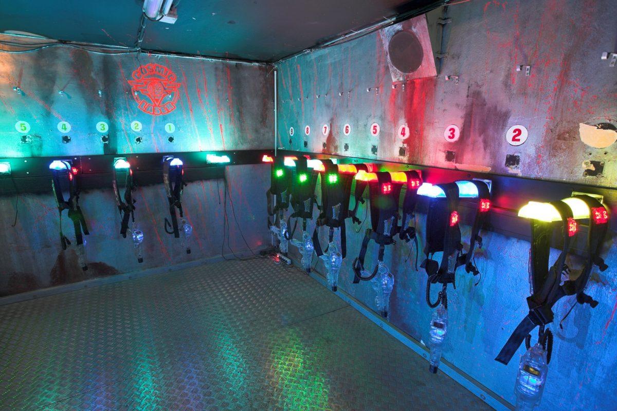 cosmic laser game thiais