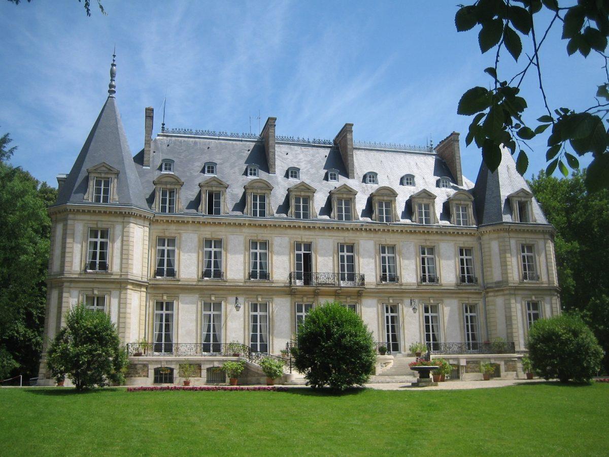 facade chateau santeny