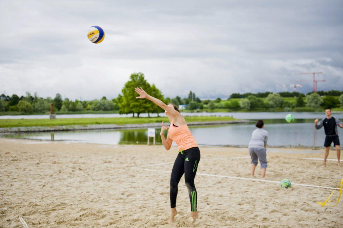 parc plage bleue valenton volley