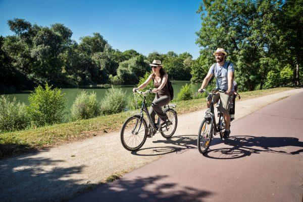 Randonnée à vélo sur les bords de Marne à Saint-Maur