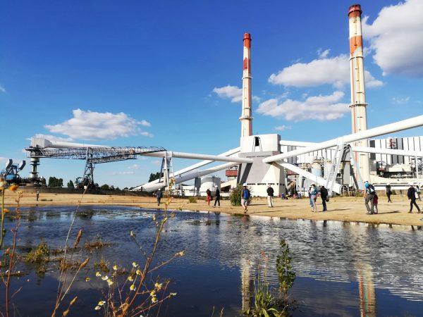 Visite entreprise ancienne usine EDF des Ardoines