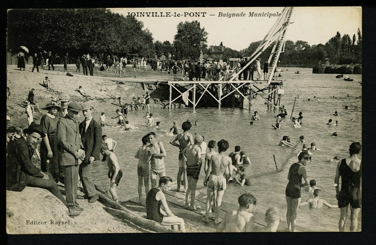 Archives de la baignade dans la Marne