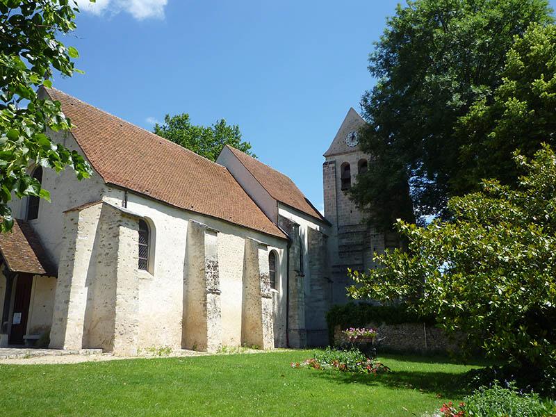 L'église de Marolles-en-Brie
