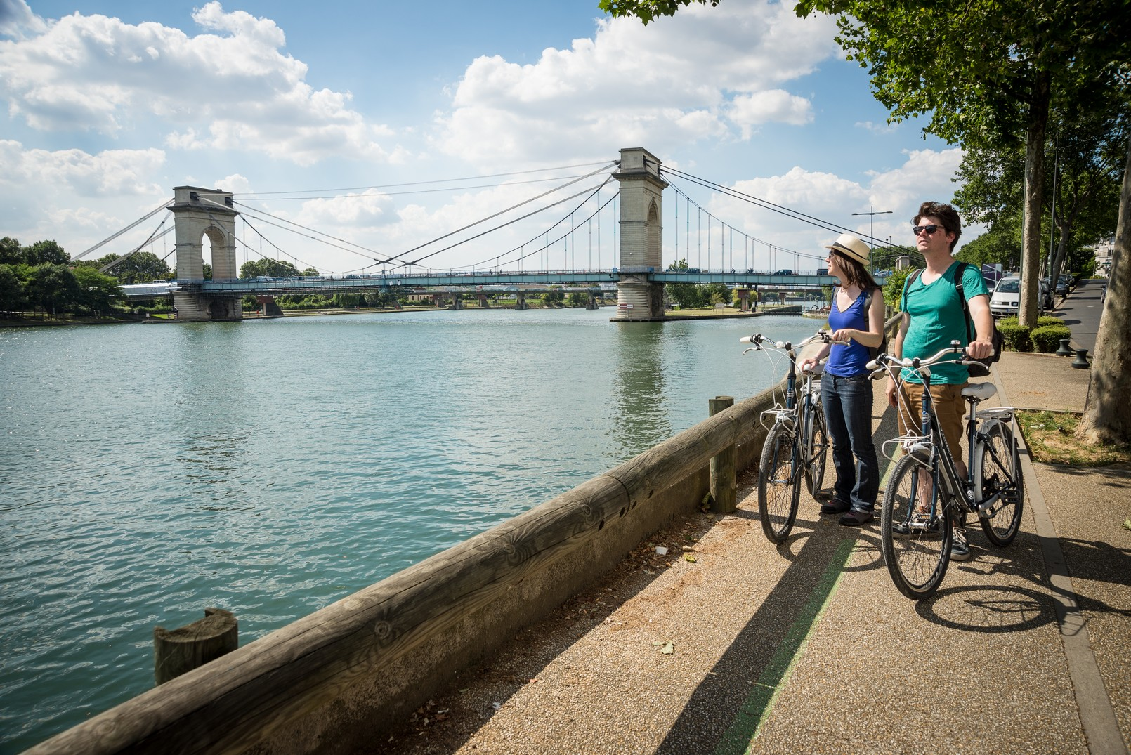 Randonnée bords de Seine à vélo