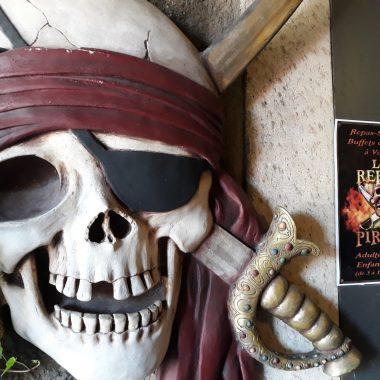 Tête de mort - Le Repère des pirates