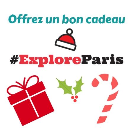 Bon cadeau Explore Paris
