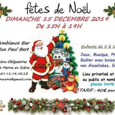 Fête de Noël de Marne en Scène
