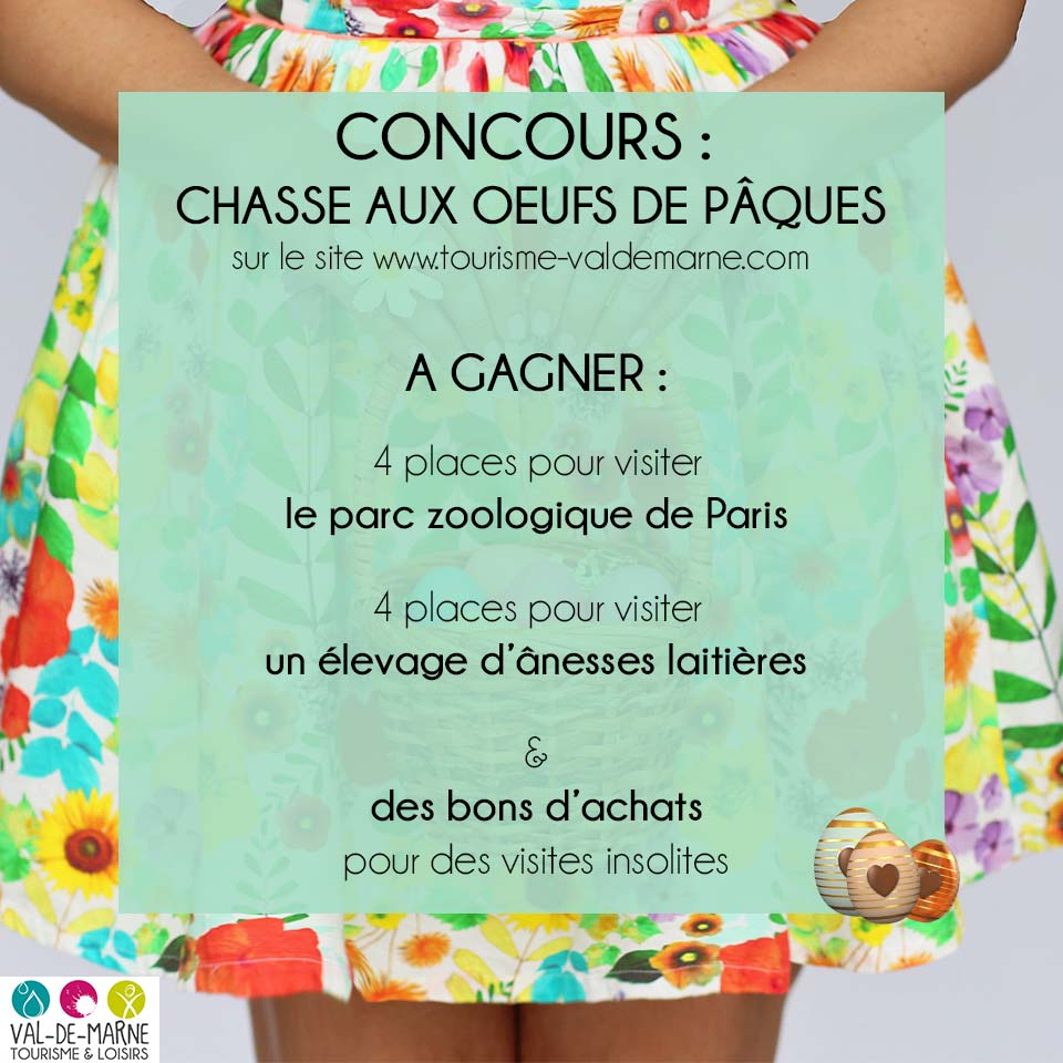 Concours chasse oeufs paques