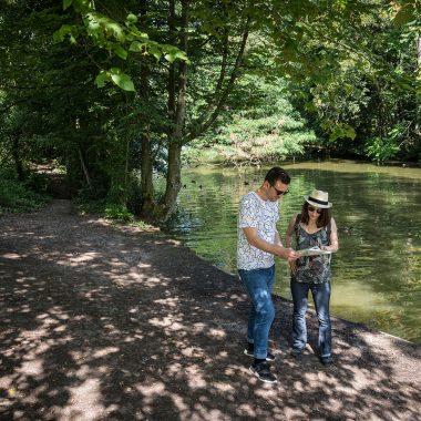 Randonnée dans le bois de Vincennes