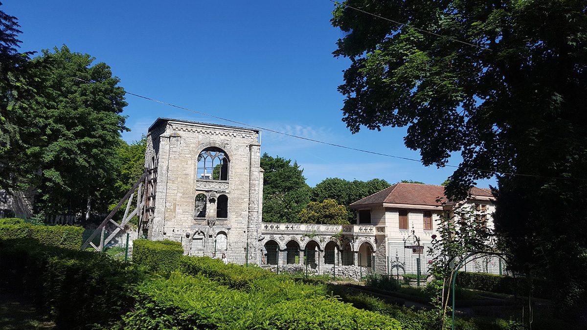 Parc de l'abbaye de Saint-Maur