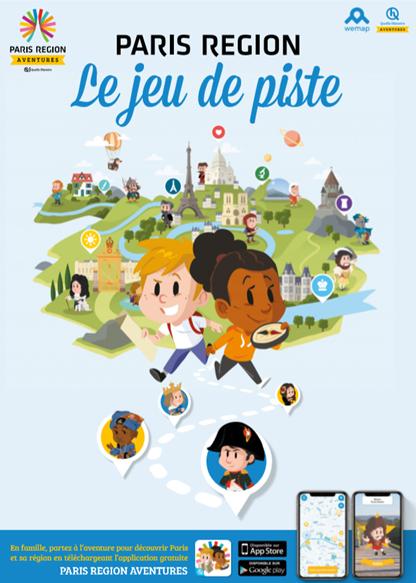 Paris région aventure affiche